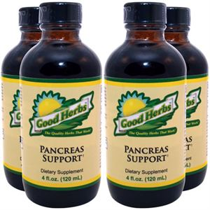Picture of Pancreas Support (4oz) - 4 Pack